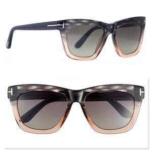 New TOM FORD Grey Brown Sunglasses